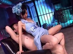 Japanese Cosplay Sex Part 2 : Petite Asian teen Aino Kishi loves putting on costumes and having Asian sex. You should see her nurse outfit she looks like a very seductive naughty nurse. You have to see her get her pussy fucked hard while shes in her nurses uniform.