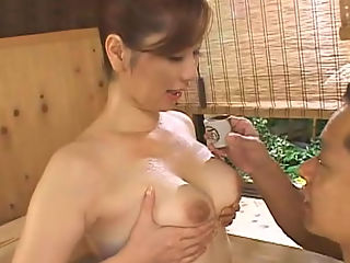 Mixed Hot Spring Massage Inn : Mature ladies Chisato Shoda and Reika Yoshizawa in an award winning movie. Watch them as they fuck and give blowjobs to men in a hot spring resort.