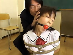 School Girls Bondage Sex : Momo Nakamura Chihiro Hasegawa and Marin Izumi are schoolgirls in this bondage themed movie. Theyre in school uniforms and they get tied up made to suck cocks and fucked in different positions.