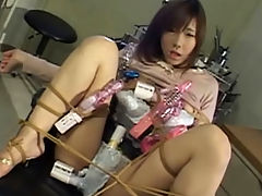 My Really Lewd Delusional Sex : Several guys fondle Serina Hayakawas sexy body and she sucked their cocks and fucked them. Then in a doctors office she gets tied to a chair and different sex toys are attached all over her body.