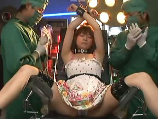 No Limit : Mei Itoya in a bondage themed movie. Watch her as she gets tied up chained and restrained as they play with her pussy fuck her and make her suck cocks.
