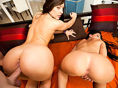 Super Asses with Rebeca Linares and Gracie Glam : We always do it right for you people here on Assparade. This video features Rebeca Linares and Gracie Glam. These two ladies are out of this fucking world fine. Gracie Glam is a stand alone ass goddess and Rebeca Linares has the best of both worlds going on with her huge cans and phat bubble butt. Putting these two together is like mixing fire and gasoline. Danger! Come watch these fine ladies get there fuck and suck on! Your welcome.