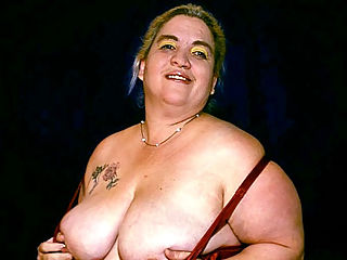 Huge BBW Tit Tease : Meet Solsa, this sexy bbw is pretty and has an appetite for studs to satisfy her carnal cravings. Check her out as she shows off her big plump tits and huge round ass and submit it for some hardcore drilling. Watch this big beauty joust two stiff cocks in her mouth.