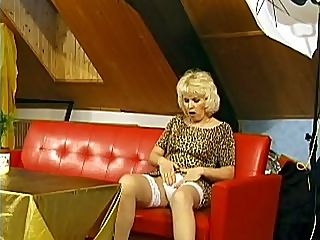 Cock Riding Grandma : Susan just got to visit her new tenant who lives in the attic. She wanted to make sure that hes comfortable and to give him a proper welcome, this mature whore decided to spread her legs for him and let him drive his cock deep into her sopping slit.