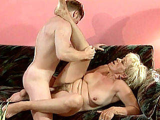 Cum Facial Granny : Hot granny Susan is just the type to bring home hot young men. Here, this blonde grandma starts by having her huge granny tits fondled and sucked before then sucks his huge hard cock. This hot granny then gets a goo ducking and gets a creamy facial in the end.