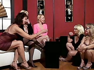 Hot Granny Fucking : Things are bound to get hot when you gather four sexy gilfs together like Raquel, Vanessa Videl, Wanda Lust and the sexy Dane Hayes. These four are getting naughty and so they decided to call grampa over so these grannies could have a little fun with him.