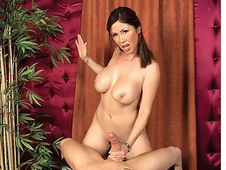 Tsunami Tug Job : For one of the best Happy Ending givers in the entire world of porndom, look no further than Kianna Dior, Asian sex goddess. Kiannas energetic hand and boob worship of the cock and balls is without equal. Her filthy, dirty-talking, cum-demanding mouth is the best. Kiannas goo-extraction skills deserve an award. If only they could all be like her. She is a role model to other girls in jacking and stroking. Its a miracle this dude lasted as long as he did with his dick in her palms and between her tits. Happy landings.
