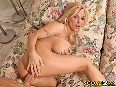 Sockin The Soccer Mom sexiest women in the world : Heres why this SCORE video is special. Its shot in POV. It has Holly Halston, one of the all-time, dirty-mouthed, nastiest busty MILFS and she hasnt been on SCORELAND in a while. Her stacked little body is tight and toned. She emerges from the ocean looking very sexy. In fact, the people at the beach off-camera were glued to her every move until she left. She and her hub head back inside so he can fuck her brains out. Her cocksucking skills are always fun to watch and highly jackable. Her experienced butthole grips his bone as shes anally plundered and so does her smooth pussy. Few can talk as filthy during sex as Holly, a hot bitch with the mouth and tongue of a whore, and shes proud of it. She fucks hard and takes it hard because she means it. After he squirts his load on her asscrack, she wipes the glop on her finger and licks it, wiping her butthole with a finger and sticking it in her mouth. Thats why there was only one big-titted girl sexiest women in the world who could properly teach Christy Marks about ass-fucking Holly Halston.