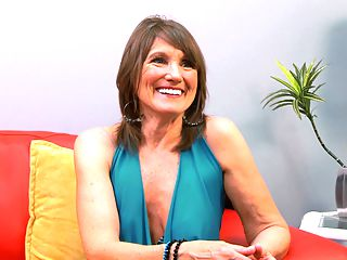 Getting To know Donna Davidson : Donna Davidson, our newest MILF, sits down for an interview with our editor. Shes 65 years old, a fact shes obviously proud of.br br Its an honor to be 65 and doing this, Donna says. I think a lot of 65-year-olds wouldnt want to let their bodies be on camera, and I feel like Ive worked really hard to take care of mine, so its fun to be here.br br Donna calls herself the sexy girl-next-door, a fact we definitely agree with. For the record, shes married, she lives in Montana and she enjoys gardening. In fact, somewhere around the six-minute mark of this video, Donna demonstrates her gardening style.br br Oh, Donna, how does your garden grow? Well, youre definitely making us grow.br