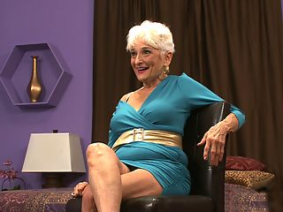 Holistically Hattie, The Interview : Several months ago, S.D., a 40Something magazine reader from Maryland wrote, On The Learning Channel, they had a program called Strange Sex, and one episode was on cougars and featured a 70something cougar from New York named Hattie. How about trying to get her to pose for your magazine?br br As it turned out, Hattie was Holistically Hattie, a 74-year-old divorcee from New York who had also appeared on Howard Sterns SiriusXM satellite radio show. When she was 52, Hattie had won first prize in an over-50 bathing suit beauty contest at New York Citys famed Roseland ballroom. And shes a sex coach and author of the books Sex And The Single Senior and Retro Age. And shes a self-described cougar who only has sex with much-younger men. And she has her own Wikipedia page.br br So, Hattie had achieved a certain amount of fame partly because her encounter with Howard Stern was a bit contentious at first with Howard referring to her-before he laid eyes on her-as an old bag. But she had never posed naked for any magazine or website. Would she get naked for us?br br Well, the answer was, Sure! No, Hattie didnt have sex on camera. But in this weeks postings todays video interview, Wednesdays sexy photos and Fridays sex tips, Hattie proves, once again, that sexuality has no age limits.br br So enjoy Hattie. You might jack. Youll definitely learn something.br