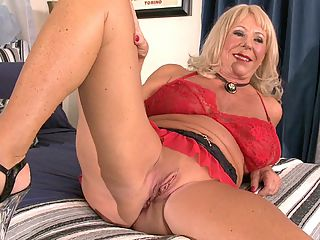 Mandi McGraw Is Now Our Oldest Milf... so far! : Women like Mandi McGraw dont come along too often, but when they do, we grab them! There are a lot of reasons Mandi is special, but since this is Day 1 of her three-day special and we dont want to give everything away from the start, well list just some of thembrbr 1. At 69 born August1940, shes our oldest MILF ever on 60PlusMILFs.com, 10 months older than Christy Cougar.br2. Shes a wife, a mother and a grandmother.br3. Shes been married to the same guy for 50 years, yet shes a swinger who loves getting fucked by strangers in every hole.br4. Yes, we did say every hole. Mandi sucks cock, rides it with her pussy and takes it deep in her ass. And she doesnt care how big the cock is...or what color it is.brbr On Wednesday, Mandi will become our oldest ass-fucked MILF ever, and thats a beautiful thing. But for now, get to know this sexy lady from Tampa, Florida she was born in California. Watch how she blushes when she talks about sex. Oh, and one more thing She was sent to us by Georgette Parks who once fucked her husband. Some guys have all the luck.
