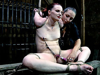 Claire Adams Extreme Slut : Sister Dee knows that she can take a bondage and pain slut like Claire Adams to the edge and back and all she will do is beg for more. Begging is always a encouraged with more pain and more orgasms. It makes for an endless cycle of suffering and pleasure, both of which will only become more intense. SD is going to test the limits and Claire is going to love every second of it.