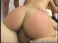 Cris Taliana : Cris Taliana is a certified asian gang bang, cum swallowing whore. She loves to swallow and the only way that she can get enough cum in her tummy is to fuck a small village of guys, milking them for every last drop. Watch the glee on her face!