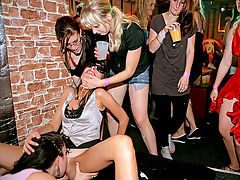Wild girls party : Thats exactly what these sex party chicks are doing, anyway, and theyre loving every minute of the new found orgy experience thats ripping through them unlike anything theyve ever experienced before! Some of these lovely amateur girls are showing off their slutty side by sucking down stripper cock as deep as they can...