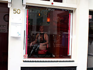 Busty Milf Prostitute : Heres another episode of redlight sextrips, where real tourists come to Amsterdam to fuck a real blonde Dutch hooker! This time we have a guy whos after a milf mature wife with big tits and a big ass and just loves to fuck! We walk the redlight district with this tourist and when arrived at our hooker, he got an instant boner, we walked in and this woman inmediatly took care of him, when giving him a good sloppy blowjob, licking his balls, letting him fuck her pussy raw and in the end he cums and gives her a good sticky facial!