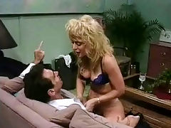 A hot religion : A woman in a negligee is talking to a guy who is sitting on a couch. She takes her clothes off and climbs on his lap to strip him off his. Chanting pseudo biblical texts the both of them lay down on the couch for an extensive fuck.