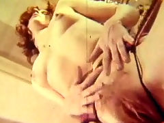 Fucking in the hotel room : A guy and a girl walk into a hotel room where they begin to kiss each other. They undress and the guy lays down on a table with the girl on top of him. A little later he is fucking her from behind.