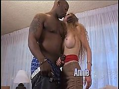 Annie Body Loves Her Furry Ginger Poon Being Fucked! : Porn queen, Annie Body is the hottest red-head youll ever lays eyes on and it doesnt hurt that she likes sporting a sexy hairy twat! Fuck, just look at her fine little red hairs. Anyway, Nat Turner has his way with her incredible body, feeding her his cock mouth-first, then twirling her around like a rag doll and smashing out that furry ginger poon!