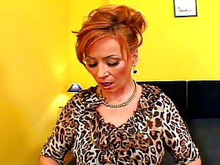 Redhead Hooker Takes An Ebony Creampie : Redhead hooker Lady has fallen on hard times, and she has started doing the thing that she said that she never would - sucking and fucking black cocks! Her stud for the day is a virile young buck with an absolutely massive pole, and theres a look of near despair on Ladys face as she takes the musky meat unprotected into her mouth. Then she gets bent over and done from the back on top of the bed she tries to bury her face in the duvet and pretend that she is not really taking a black cock and her pussy, but theres no mistaking that width splitting her wide open! Whats worse is that she takes a sticky creampie from the black meat!