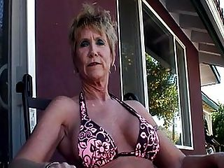 Mature Honey Jizzed On Huge Fake Tits : She might be getting on in years, but tattooed MILF Honey Ray is still a nasty fuck whore! She looks straight into the camera with her piercing blue eyes as she goes down on much younger porn stud Jay Ashley, fellating the full length of his pole and almost making him spurt in her mouth. Thats the wonder of an experienced women - these girls really know how to suck and fuck! The reverse cowgirl is also fantastic, with Jays big dick splitting Honeys pussy and her big fake tits heaving in time with the nasty sex rhythm. The dirty tart takes the load on her upturned breasts, holding them together to catch every drop of spunk.