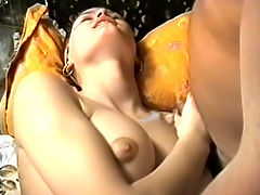 Private VHS archives, part 1 : Russian sex revolution of 90s on VHS from private collections. Hot amateur strumpet gets fucked, gives head and swallows massive cumshot.