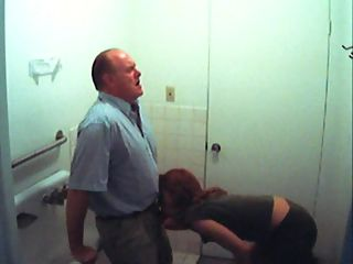 Professor gets a BJ : Girl sucks her professor off to get a better grade in class and hes busted on spycam!