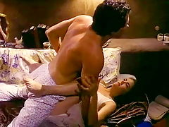 Hotwater blowjob from an 80s porn housewife