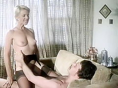 Hot 80s porn video with double penetration