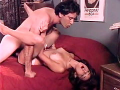 Hot sex scene from the golden age of porn