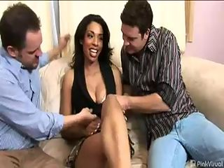 Desiree Diamond : Desiree may have fought for her country but she was more than willing to surrender her ass for some first time hardcore ass fucking anal sex. Our two good old guys show this lady their gratitude by giving this sexy vet a place to stay and a couple of hard dicks for her puckery hole!