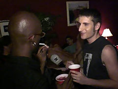 Kaidin Cole and Jaeden James - Hi Def : These studs may have come to the studio for our wrap party, but when they spotted each others hard bodies and thick packages, they couldnt wait to sneak off and sample what the other guy was packing! Its a two man gay college sex party that ends in cum-splattered fun!