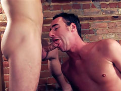 Zane Black : Sam is at it again as he breaks in the sweet tight cocoa-hole off hot construction stud Zane. Zane takes Sams HUGE COCK in his mouth and ass, and then takes this gay fuck-fest even further by taking a second cock from jerkin Johnny!