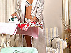 Lucy Ive : Hot Lucy Ive doing blowjob
