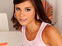 Little Caprice and Rihanna Samuel : Young lesbians having sex