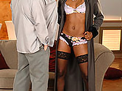 Jasmine : Steamy, anal interracial sex