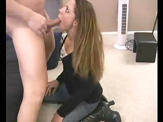Amateur fucked hard : Amateur girl face fucked then fucked even harder from behind.