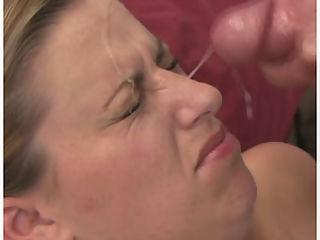 Shy amateur gets a facial : Shy amateur gets her first facial