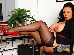 Let Me Be Your Secretary : Danica Collins, your sexy, teasing secretary for the day