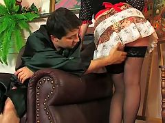 Olivia and Rudolf stunning anal movie : Banging and elegant babe in her sweet young ass like Rudolf is doing to blonde knockout Olivia is what most guys dream of and this dude is living that dream. She takes his pounding her young bum of hers with renewed gusto as she is really an anal whore who craves a good assfucking. Rudolf slams that big boner of his deep into her plump juicy young butt and she in turn lets this lusty older man stuff his fat juicy dick so deep inside her gripping lady pooper that she squeaks with every brutal thrust. Soon her ravaged raw lady rectum becomes the recipient of a fat juicy nut that coats her rectum like vanilla icing.