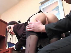 Judith and Adam naughty anal video : A true anal slut is hard to find so this guy is quite lucky that he hired a secretary who also happens to love anal fucking. She and aposll let him tag her asshole anytime as long as he can get a boner then he can fuck her dirty anus. She comes to work every day with a clean asshole and a lust for butt banging. When he requests she bends over and makes her rectal cavity available for deep penetration. It and aposs always a lusty screw and she always cums.