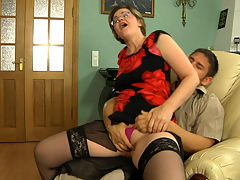 Leonora and Govard anal mature sex movie : Finally alone in the office lounge, Govard dove into Leonora and aposs big meaty mom ass as he knew it would lead to his stuffing his hard young cock into that poundcake. She spent days teasing him with her tight mom ass and now all alone dude so tore her mature asshole open stuffing every inch of his fat juicy dick in her gooey funky fudgehole.