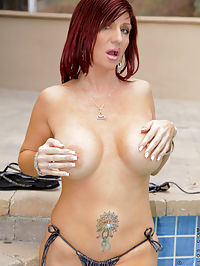 Anilos.com Brittanyblaze - Lovely Anilos Brittany Blaze proudly shows off her busty mature body outdoors : Lovely Anilos Brittany Blaze proudly shows off her busty mature body outdoors