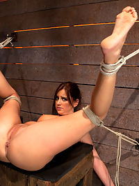 Cute 20yr old girl next door, bound with legs up and spread, foot torture, caning, finger banged hard! : Welcome back Hope to Hogtied. This girl has that next door look. Innocent, cute and sexy. Time to destroy that image.Hope was not really prepared for what Hogtied had in store for her, she did her best to endure and for that she earns our utmost respect. Bound in a beautiful fuck me position Hopes pussy and ass are displayed in stunning fashion.Foot canning, and some general abuse are what we dish out, rewarded with orgasms and brutal finger banging. There are no faked orgsms here, just the real deal.