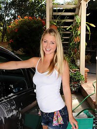 Nubiles.net Casi James - Adorable babe flaunts her perfect Nubile tits as she gets wet washing her car : Adorable babe flaunts her perfect Nubile tits as she gets wet washing her car