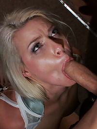 Smoking Hot Blonde is Fucked in Public Bar : Annika Albright is so hot it almost hurts to look at her. That face! That ass! Those perky tits! She is someone too hot to fuck alone in your bedroom. When you play with her you want the whole world to see it! Mr. Pete and Princess Donna tie her up and take her to a bar for public sex and humiliation public disgrace style. She is stripped naked and fondled by bar patrons then pounded hard in her mouth and pussy.