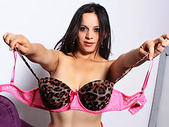 Paid In Full : Horny latina babe wearing a fishnet stockings Paloma Vargas gets a wild bang from a huge cock dude