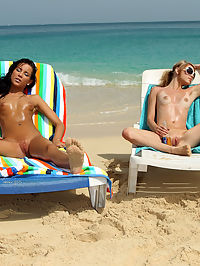 Tanner Mayes and Brea Bennet Beach Sex - 992010 : islanderotica02