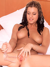 Kia in the Bedroom with a Speculum - 1282006 : kia01