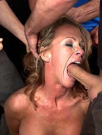 Hey Mrs. S MILFTASTIC FEATURE SHOOT : In this weeks naughty fantasy update Simone Sonay plays Mrs. S, a hot MILF who shamelessly flirts with her sons friends. When these 18 year old studs cant take it anymore they decide to quit flirting and get down to business. They fill all of Mrs. Ss holes, tie her up, and have their way with her. Double vag, double anal, fisting, and 6 guy facial!! Dont miss it!!!!Directed by Princess Donna