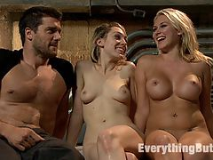 Anal Sluts Lily Labeau and Katie Summers : Lily LaBeau does her first anal scene for Kink.com with Katie Summers and Ramon Nomar! This is a very sexy shoot with lots of girl-on-girl action including ass licking, smothering, anal strap-on, gaping and butt plugs. Then these girl go all out in a energetic kinky threesome where Lily and Katie get their butt holes thoroughly fucked by Ramon Nomar!